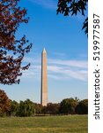washington monument natural... | Shutterstock . vector #519977587