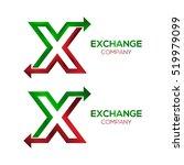 letter x logo design template... | Shutterstock .eps vector #519979099