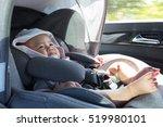 close up asian cute newborn... | Shutterstock . vector #519980101