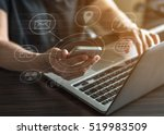 seo  internet marketing e... | Shutterstock . vector #519983509
