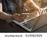 internet marketing and online...   Shutterstock . vector #519983509