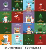 high quality christmas... | Shutterstock .eps vector #519983665