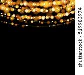christmas lights design...   Shutterstock .eps vector #519983974