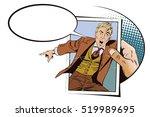 stock illustration. people in... | Shutterstock .eps vector #519989695