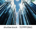 3d rendering highrise office... | Shutterstock . vector #519991861