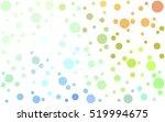 light multicolor pattern of... | Shutterstock .eps vector #519994675