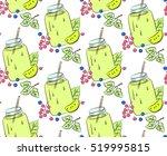 the berry lemonade vector | Shutterstock .eps vector #519995815