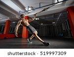 trx training. crossfit... | Shutterstock . vector #519997309