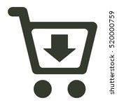 shopping icon illustration...