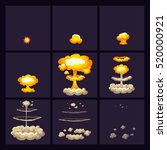explosion effects at various...