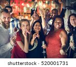 restaurant chilling out classy... | Shutterstock . vector #520001731