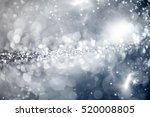 magic blue holiday abstract... | Shutterstock . vector #520008805