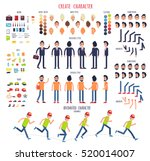 create character. set of... | Shutterstock .eps vector #520014007