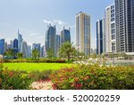 Modern Buildings And Natur In...