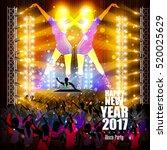 easy to edit vector... | Shutterstock .eps vector #520025629