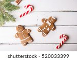 christmas background.... | Shutterstock . vector #520033399