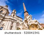 Rome  Italy. Piazza Navona Wit...