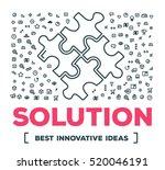 vector creative illustration of ... | Shutterstock .eps vector #520046191