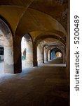 ancient arch in saluzzo   north ... | Shutterstock . vector #5200489