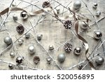 Silver Christmas Ornament Ball...