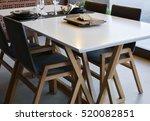 Interior Of A Modern Dining...