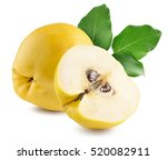 Quinces Isolated On The White...