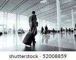 passenger in the beijing airport | Shutterstock . vector #52008859