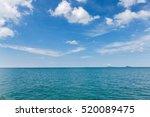 Beautiful Sky And Blue Ocean....