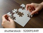 image of businesswoman... | Shutterstock . vector #520091449
