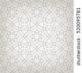 stylish seamless pattern.... | Shutterstock .eps vector #520095781