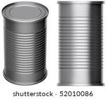 tin can | Shutterstock . vector #52010086