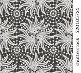 lace seamless pattern | Shutterstock .eps vector #520105735