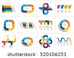 mega set of various arrows... | Shutterstock .eps vector #520106251