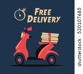 fast and free delivery. vector...