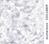 gray white polygonal background ... | Shutterstock .eps vector #520118809