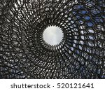 the hive  kew gardens  london ... | Shutterstock . vector #520121641