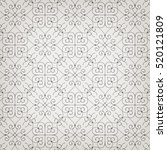 stylish seamless pattern.... | Shutterstock .eps vector #520121809
