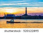 Sunset At Genoa's Port ...