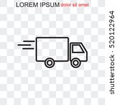 line icon  delivery | Shutterstock .eps vector #520122964