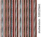 ethnic boho seamless pattern.... | Shutterstock .eps vector #520125661