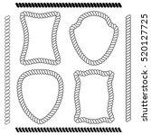 set of isolated vector frames...   Shutterstock .eps vector #520127725