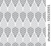 gray and white graphic pattern  ... | Shutterstock .eps vector #520135051
