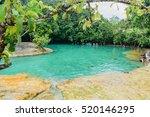krabi  thailand   october 8 ... | Shutterstock . vector #520146295