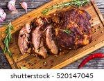 Oven Barbecued Pork Shoulder ...