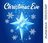 christmas eve text shining