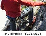 details of climber climbing...   Shutterstock . vector #520153135