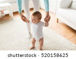 family  child  childhood and... | Shutterstock . vector #520158625