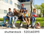 education  high school and... | Shutterstock . vector #520160395