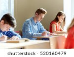 education  learning and people... | Shutterstock . vector #520160479