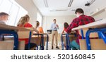 education  school  teaching ... | Shutterstock . vector #520160845